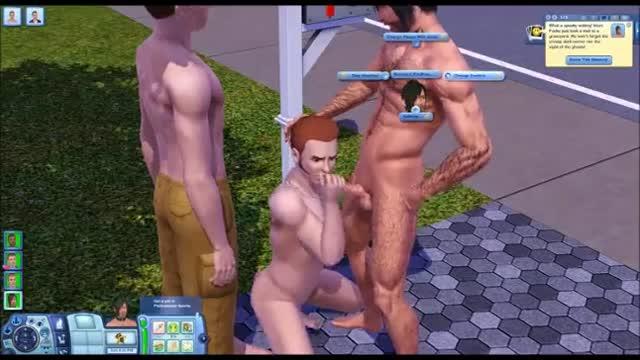 Гей Порно Симс