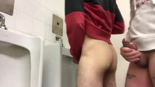 Gay toilet spy episode